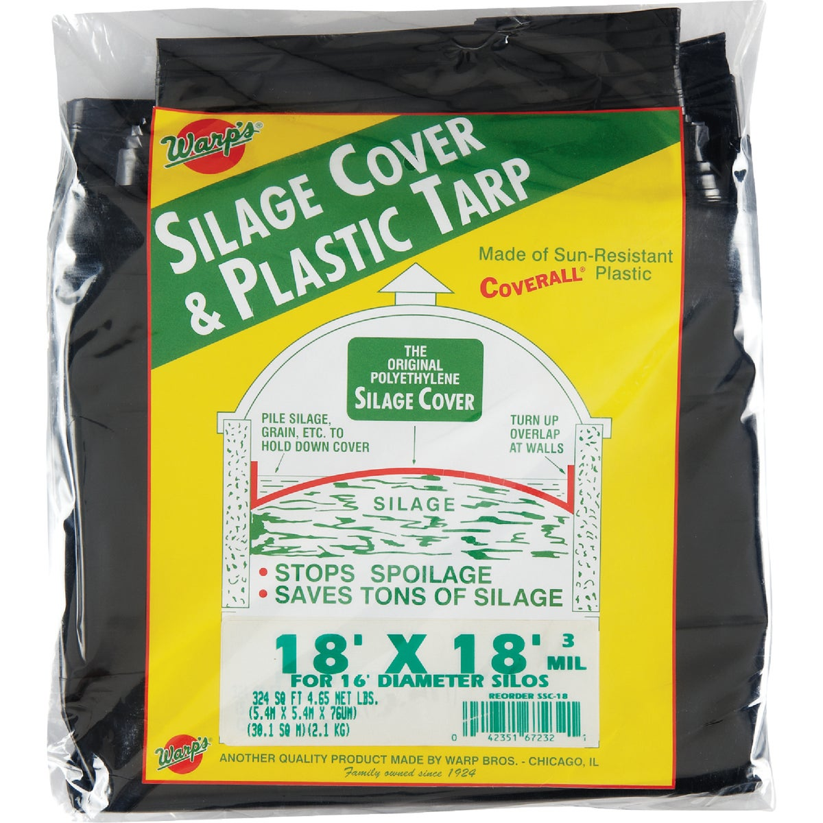 18X18 SILAGE COVER