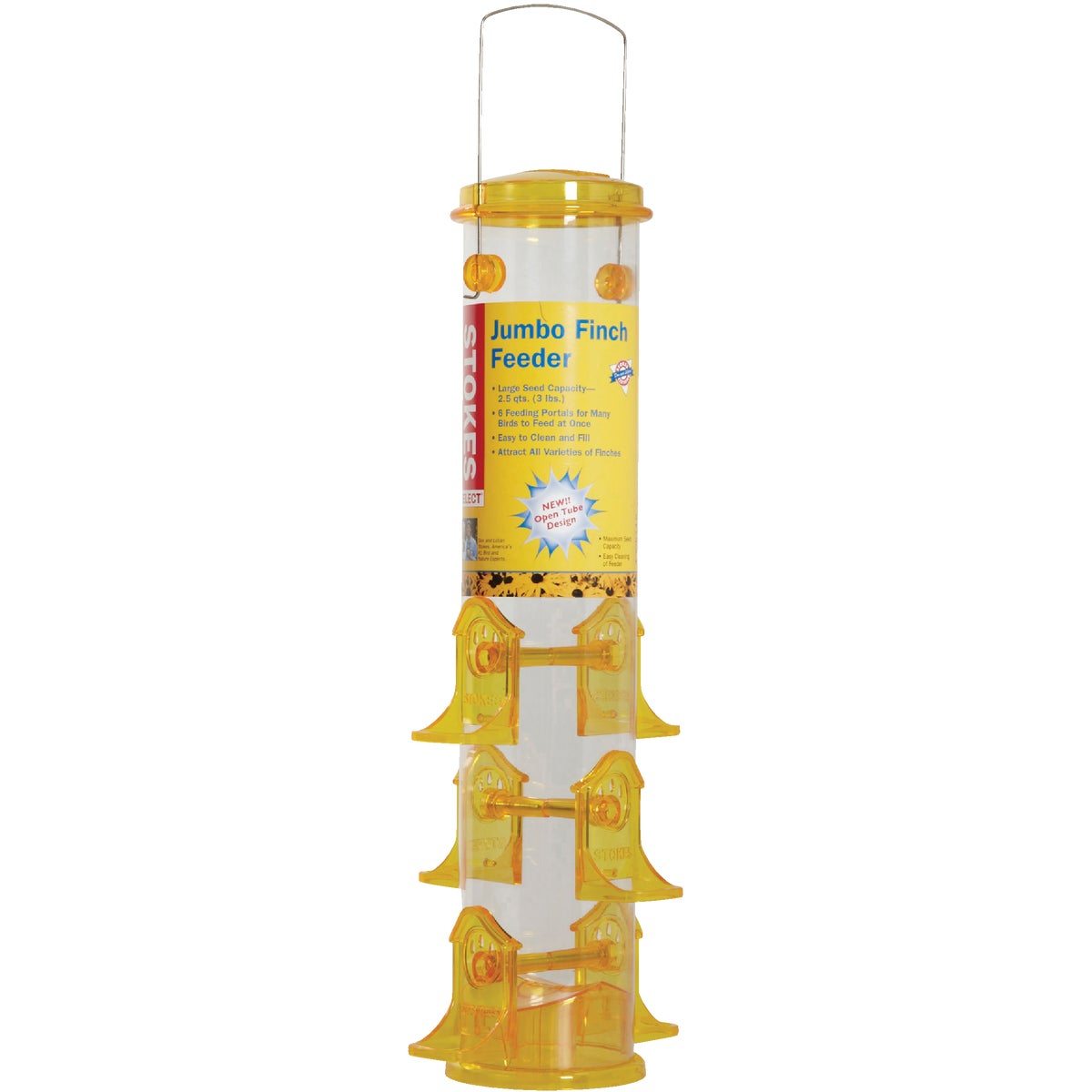 JUMBO FINCH TUBE FEEDER