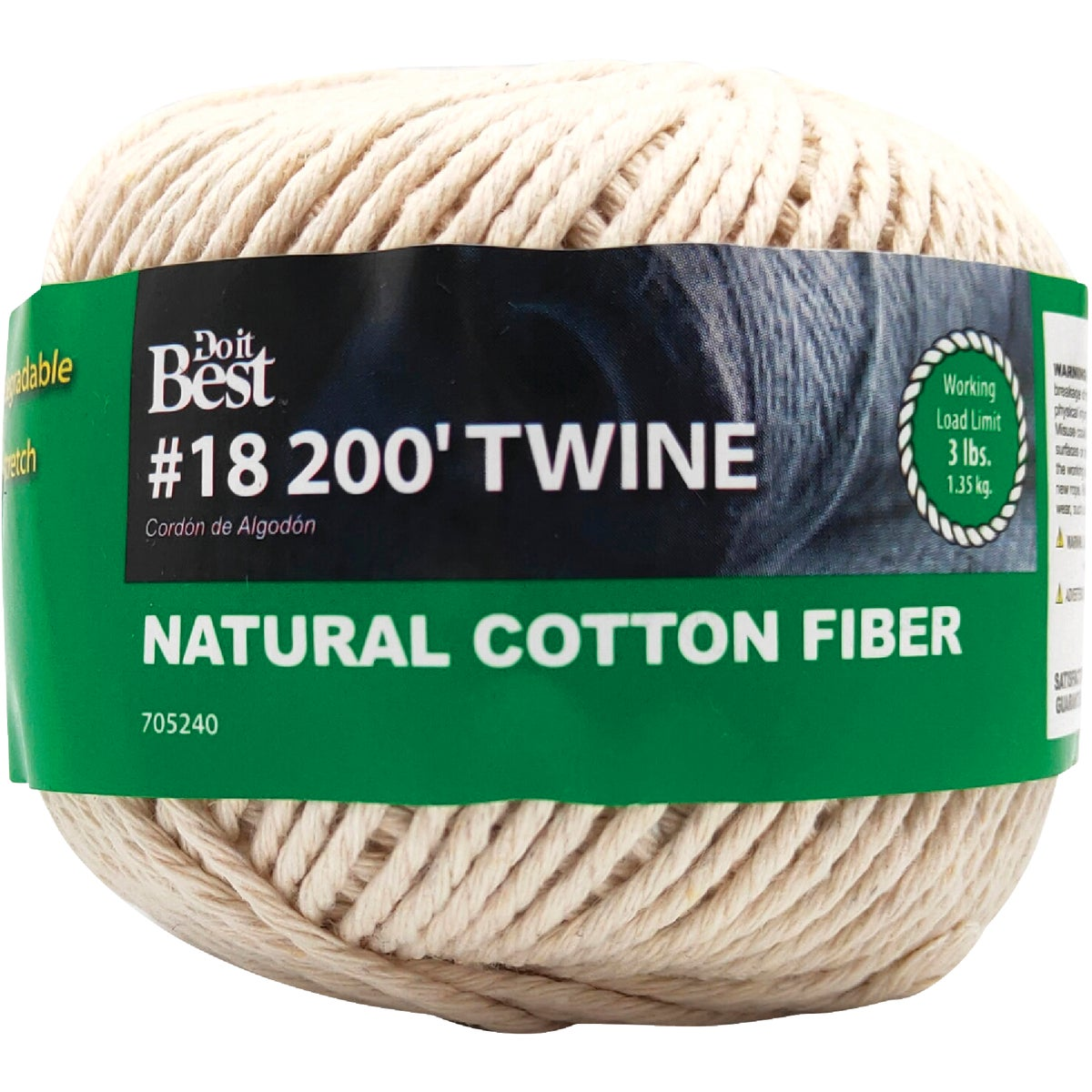 #18 200' COTTON TWINE - 705240 by Do it Best