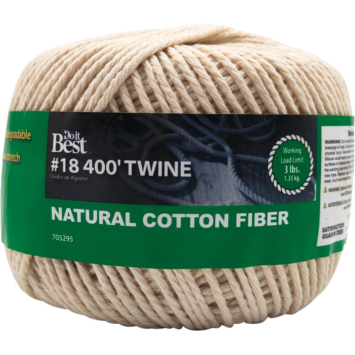 #18 400' COTTON TWINE