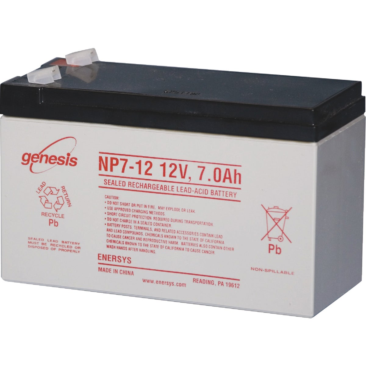 12V REPLACEMENT BATTERY - FM150 by Gto Inc
