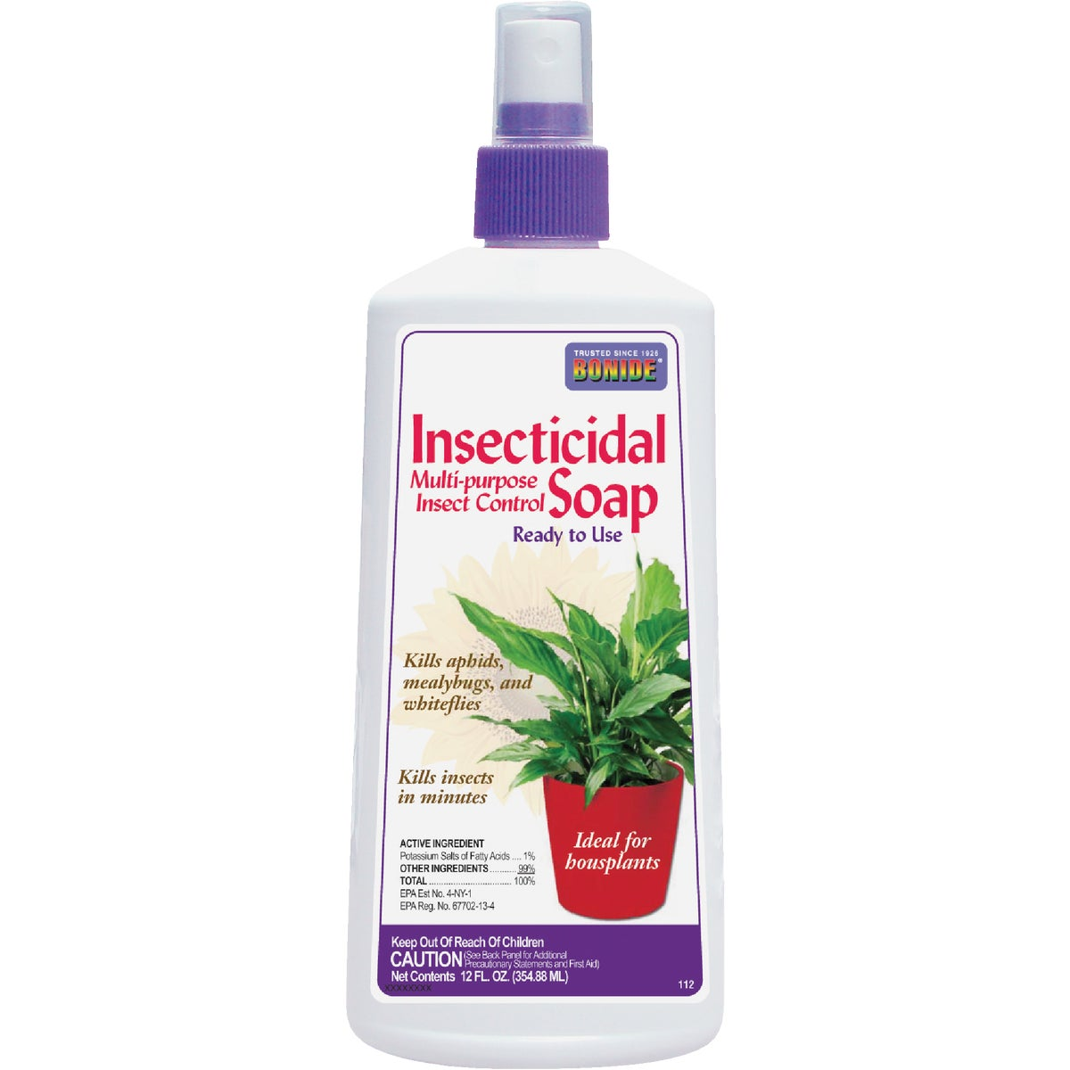 12 OZ INSECTICIDE SOAP - 112 by Bonide