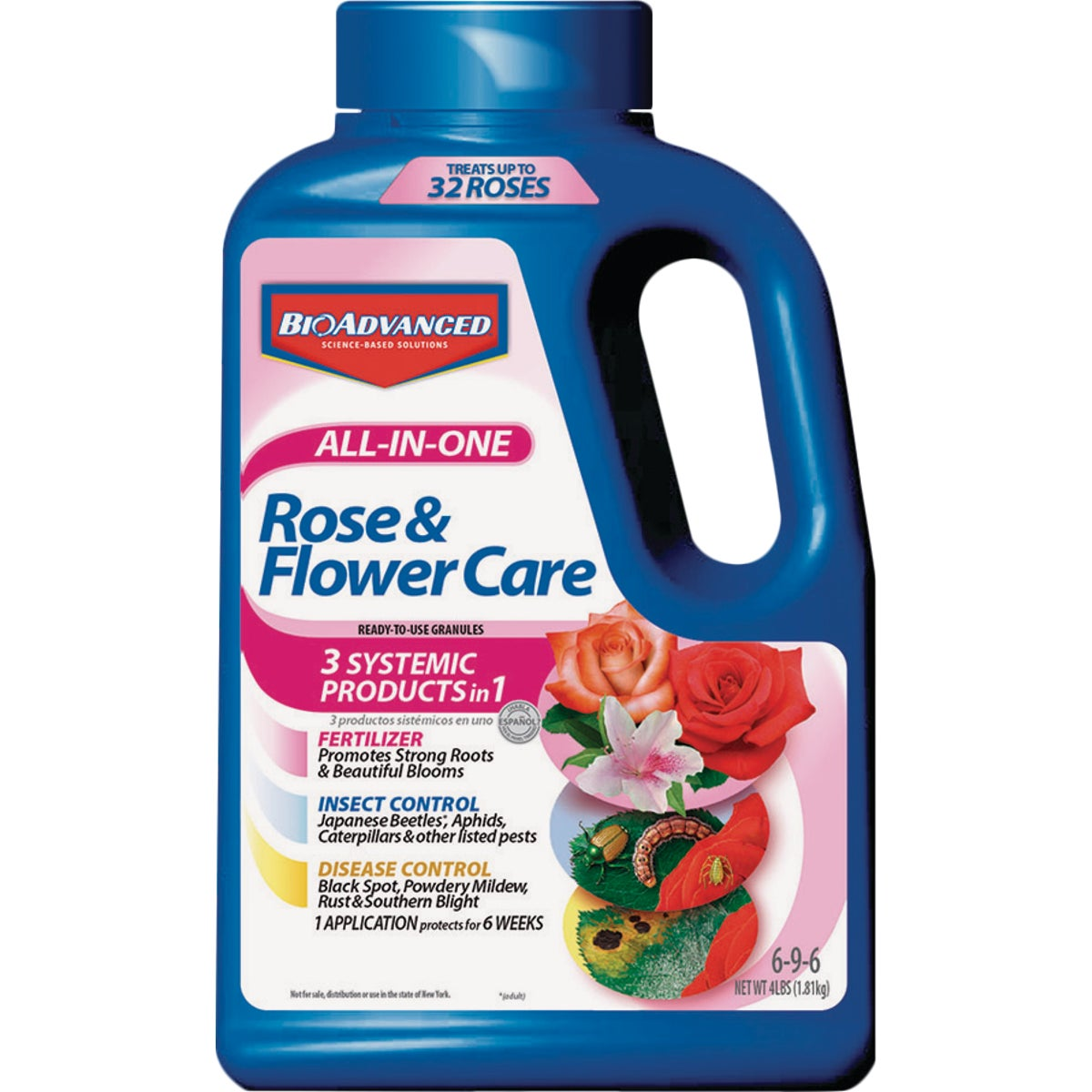 4#ROSE & FLOWR GRANULES - 701110A by Bayer Advanced Llc