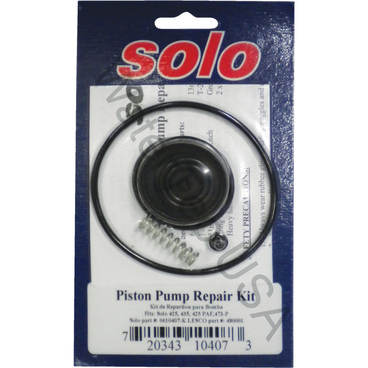 REPAIR KIT PUM - 0610407-K by Solo Inc