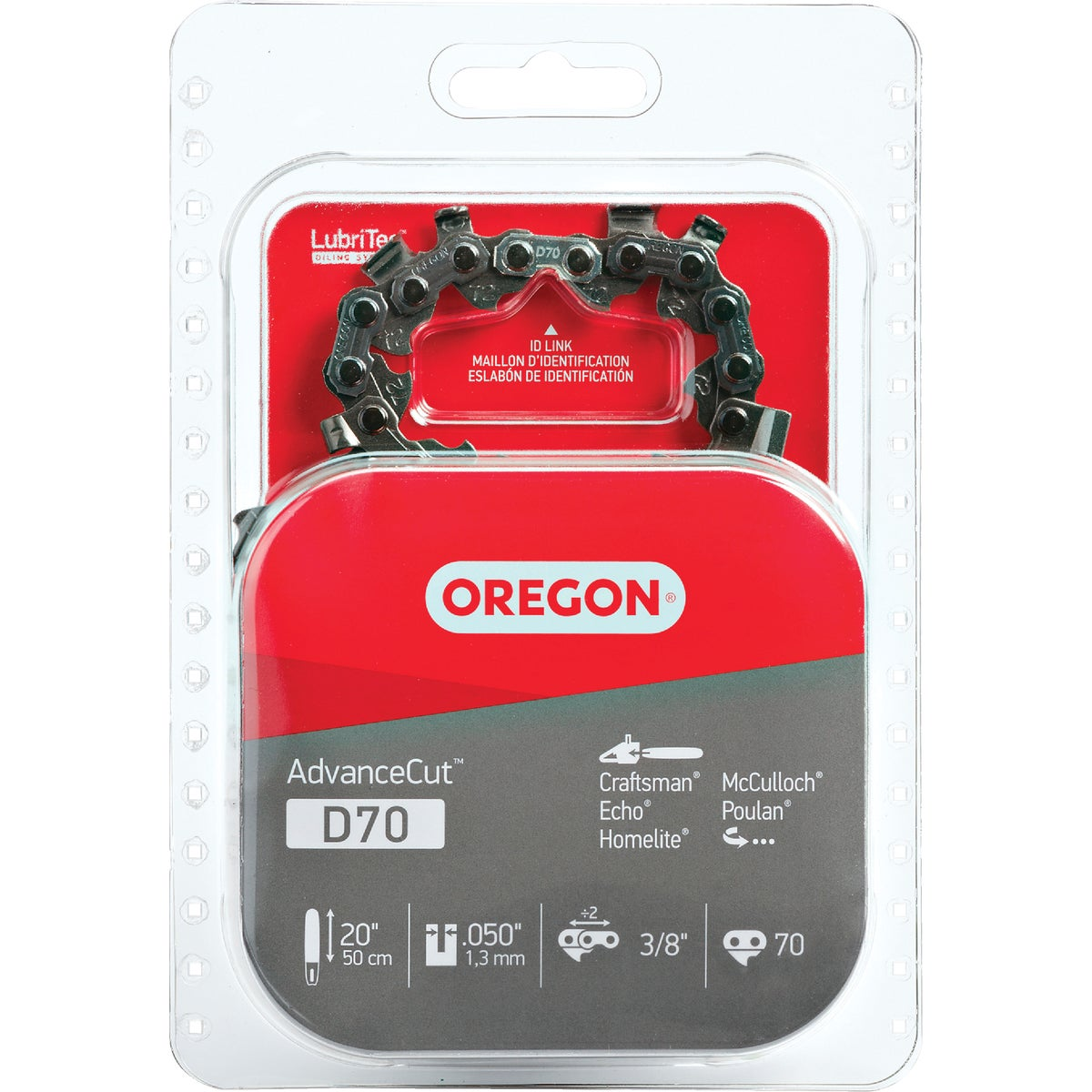 "20"" REPL SAW CHAIN - D70 by Oregon Cutting Systm"