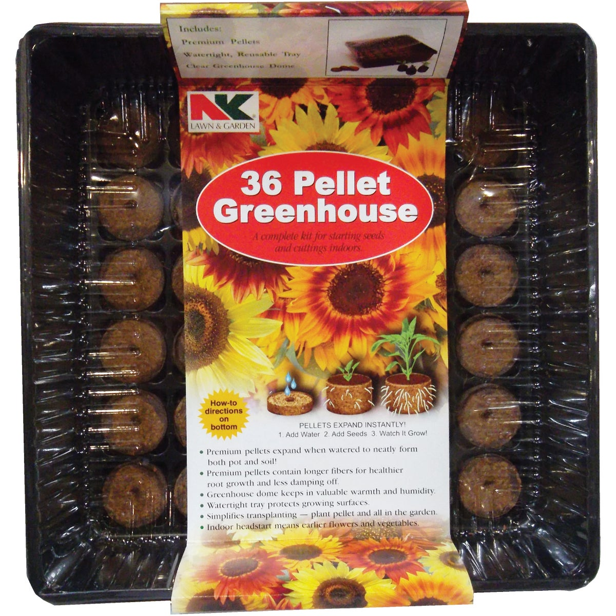 36 CELL GREENHOUSE - PO36 by Plantation Products