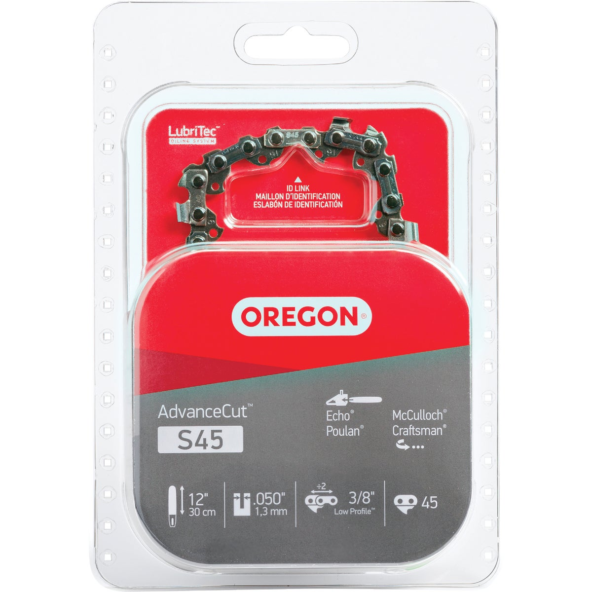"12"" REPL SAW CHAIN - S45 by Oregon Cutting Systm"