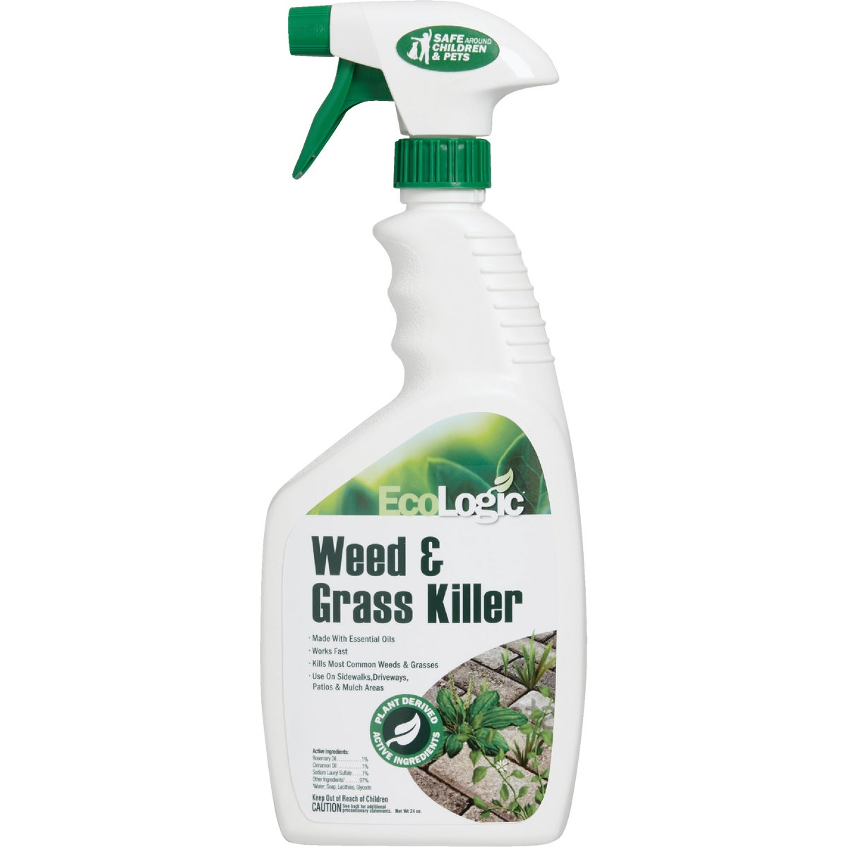 24OZ WEED & GRASS KILLR - 33113 by Ecosmart Tech