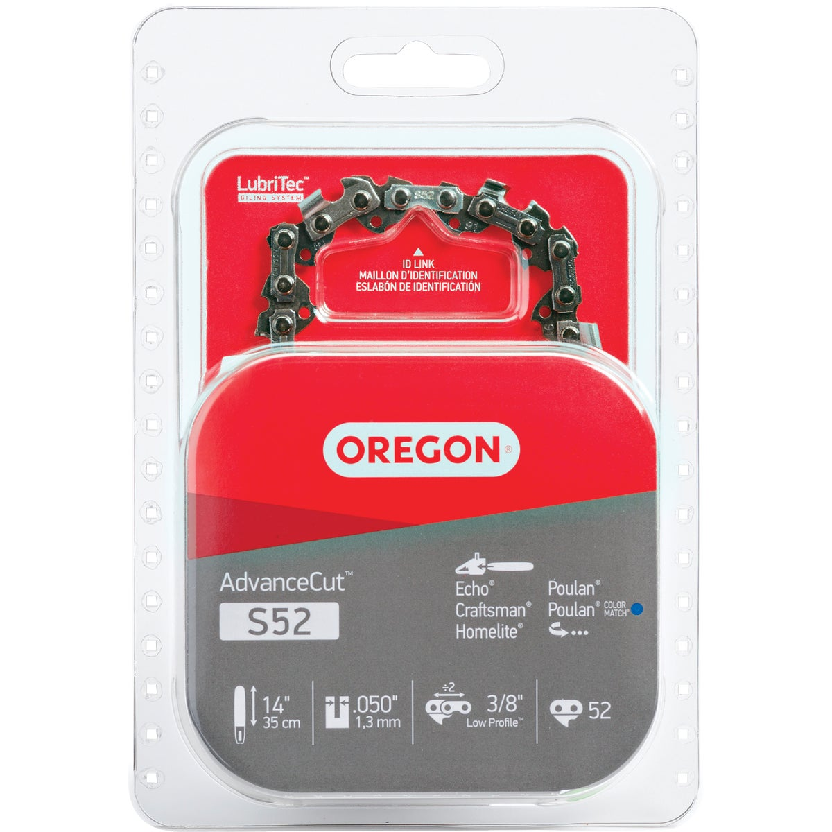 "14"" REPL SAW CHAIN - S52 by Oregon Cutting Systm"