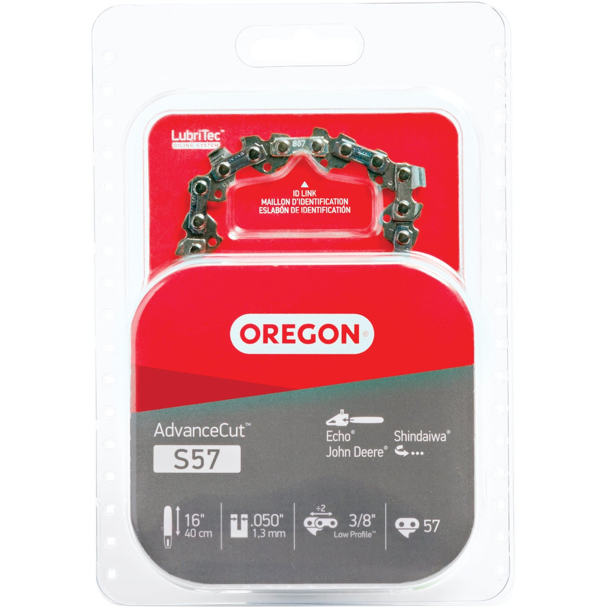 "16"" REPL SAW CHAIN - S57 by Oregon Cutting Systm"