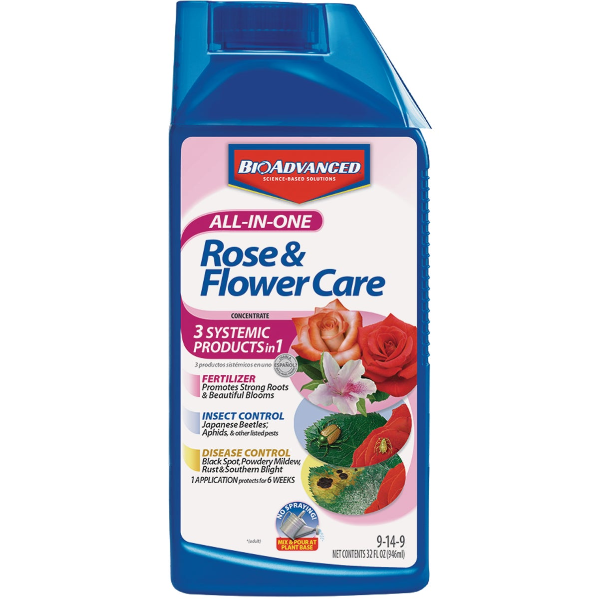 32OZ ALL IN 1 ROSE CARE - 701260B by Bayer Advanced Llc