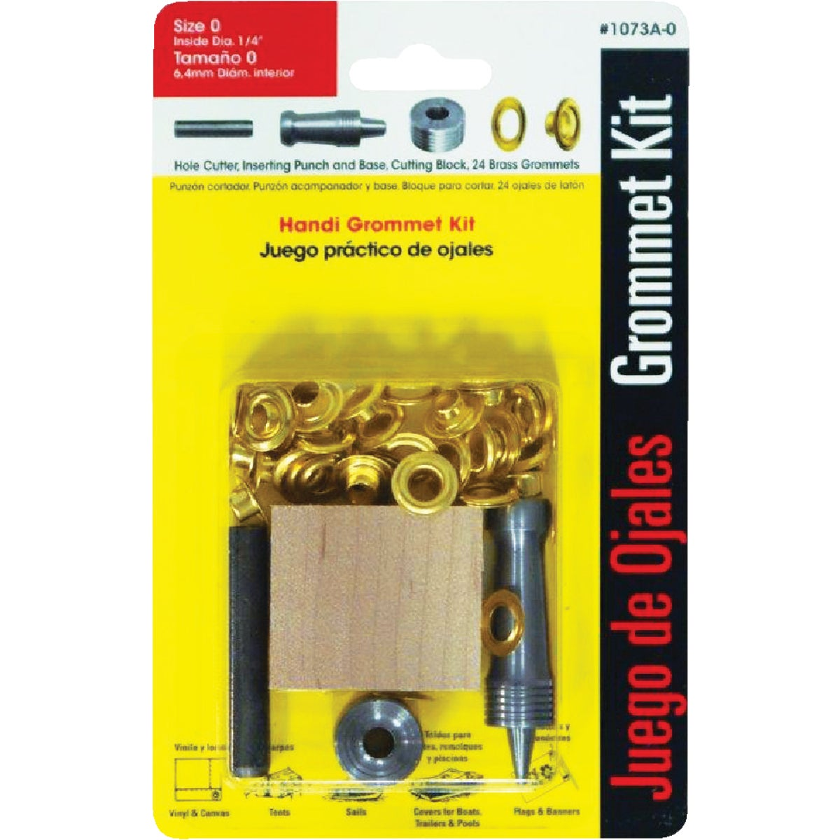 "1/4"" HANDI GROMMET KIT - 1073A-0 by Lord & Hodge Inc"