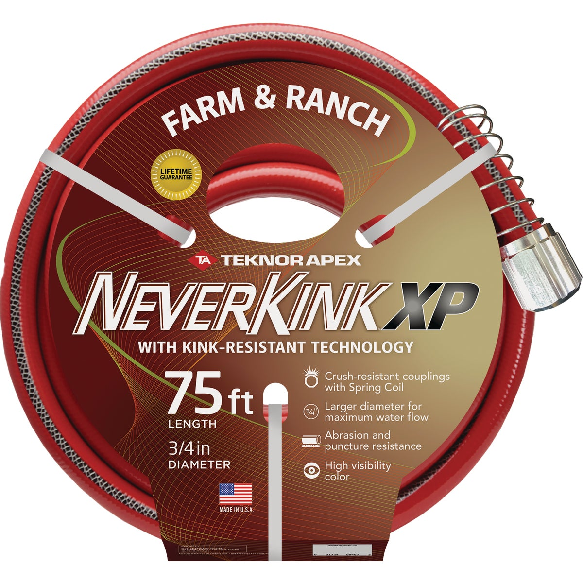 "3/4""X75' NEVERKINK HOSE - 9884-75 by Teknor Apex Co"