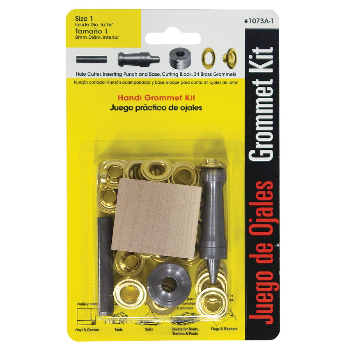 "5/16"" HANDI GROMMET KIT - 1073A-1 by Lord & Hodge Inc"