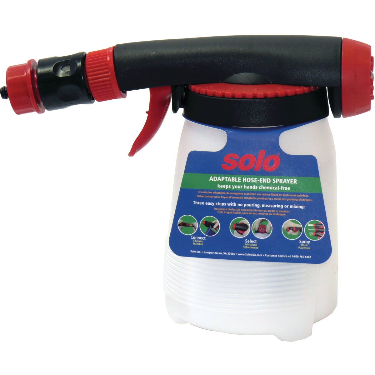 Solo Inc. CHAMELN HOSE END SPRAYER 405-HE