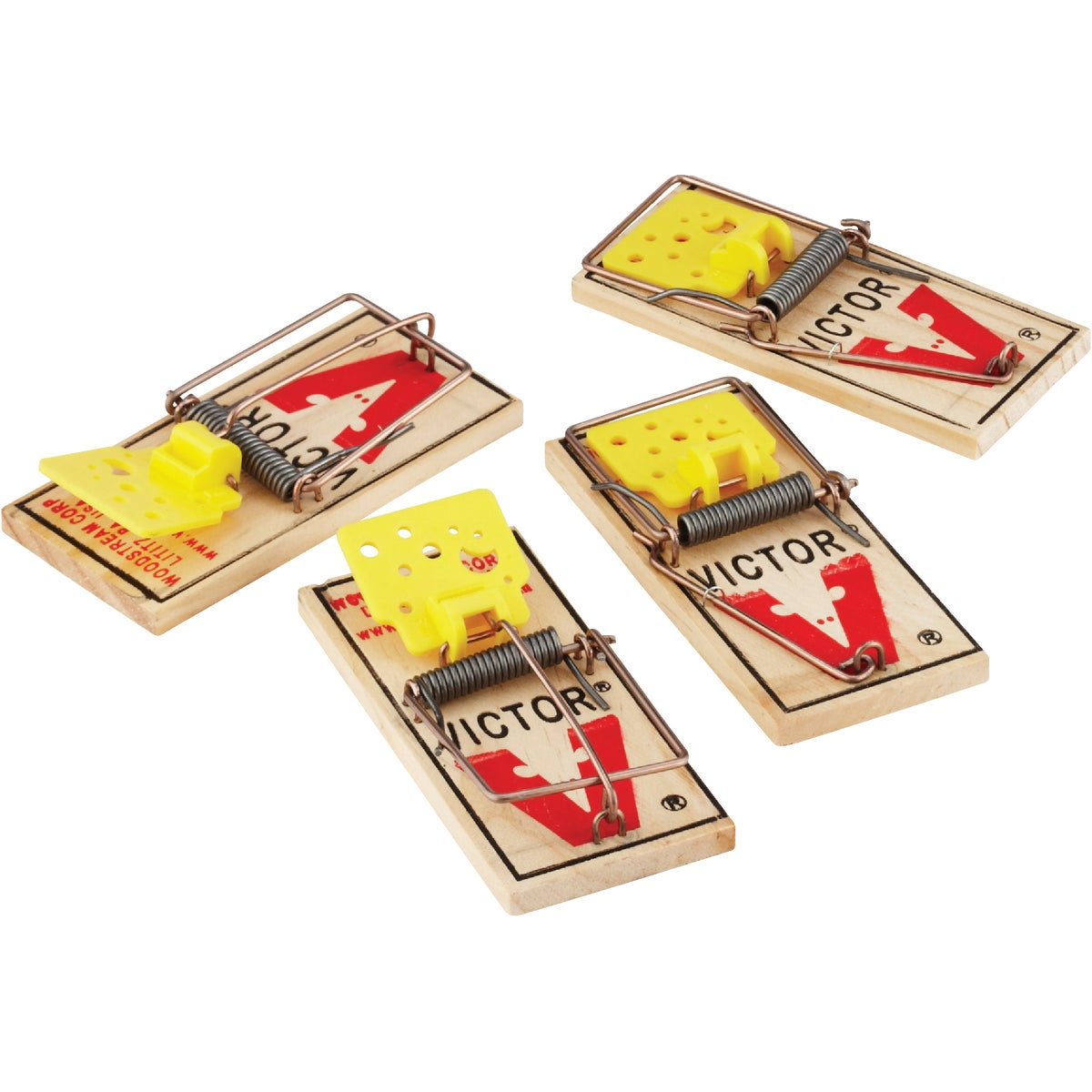 4PK EZSET MOUSE TRAP