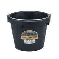 Miller Mfg. 8QT LIGHTDTY RUBBER PAIL DF8