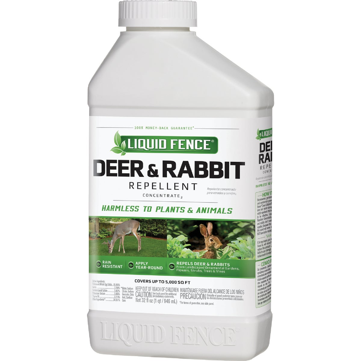 QT CON DEER/RA REPELLENT - 113 by Liquid Fence Co Inc