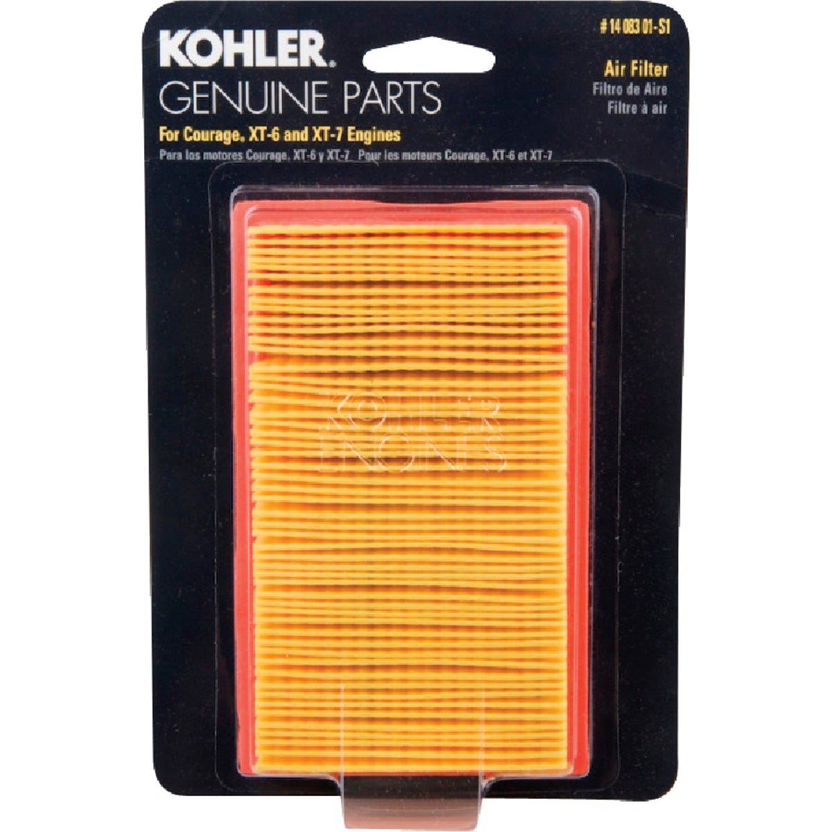 KOHLER AIR FILTER - 1408301S1C by Arnold Corp