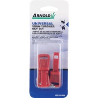Arnold Snow Blower Key Set, 490-241-0008