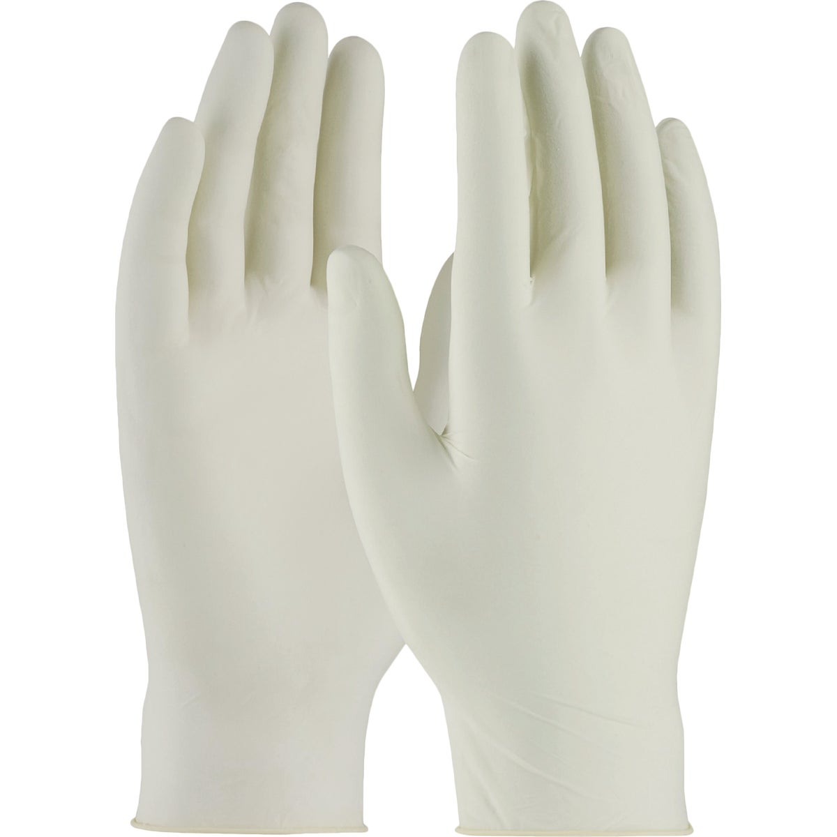LG POWDERED LATEX GLOVES