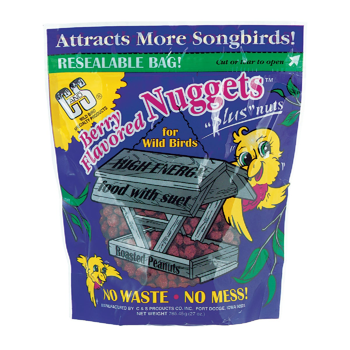 BERRY SUET NUGGETS