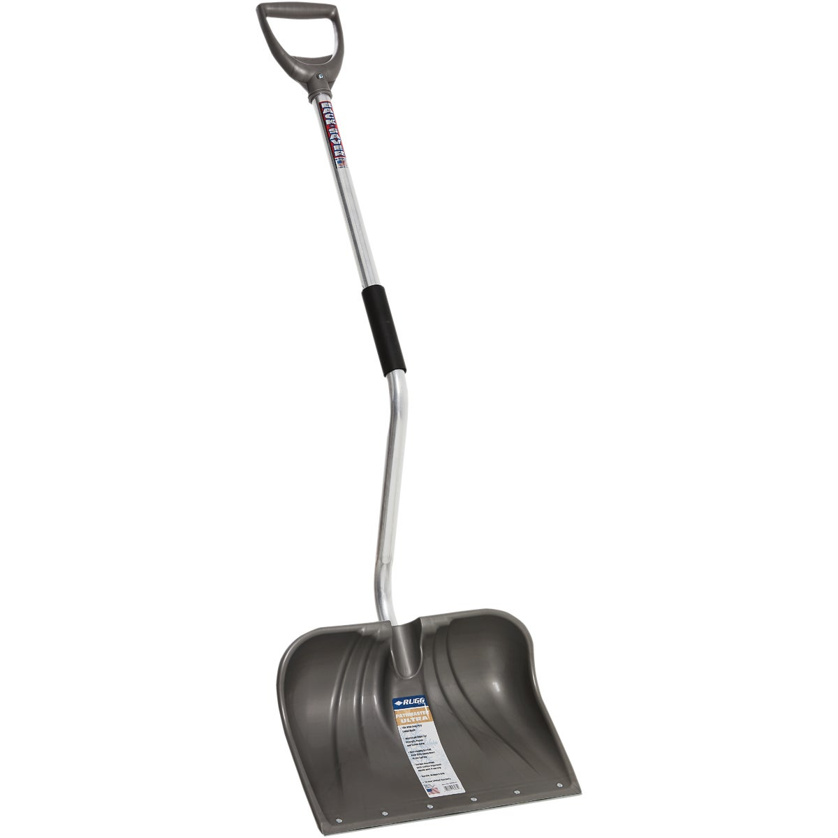 BENT HANDLE SNOW SHOVEL - 26-PBSW-S by Rugg Manufacturing