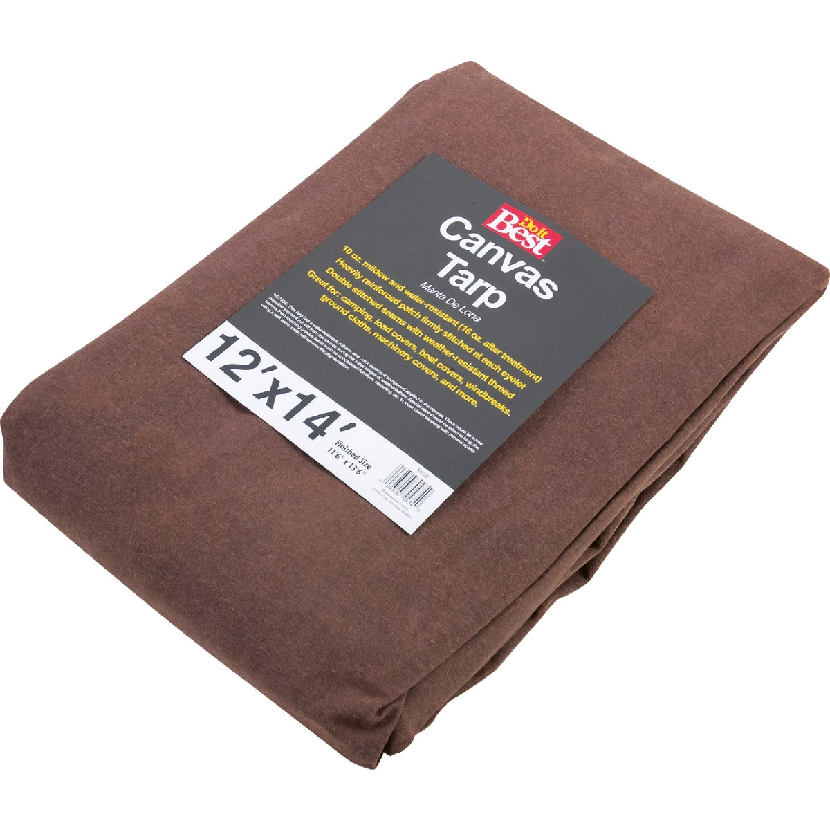 12X14-10OZ CANVAS TARP - TCR10012014T by Gosport Mfg Co
