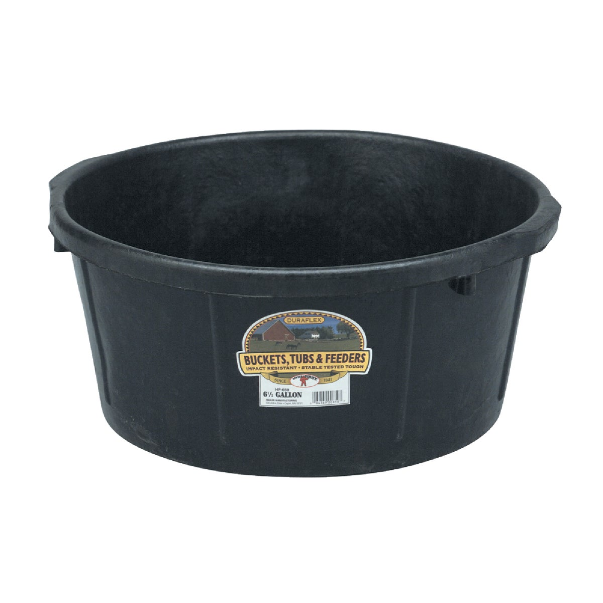 6-1/2GAL FEED TUB - HP650 by Miller Manufacturing