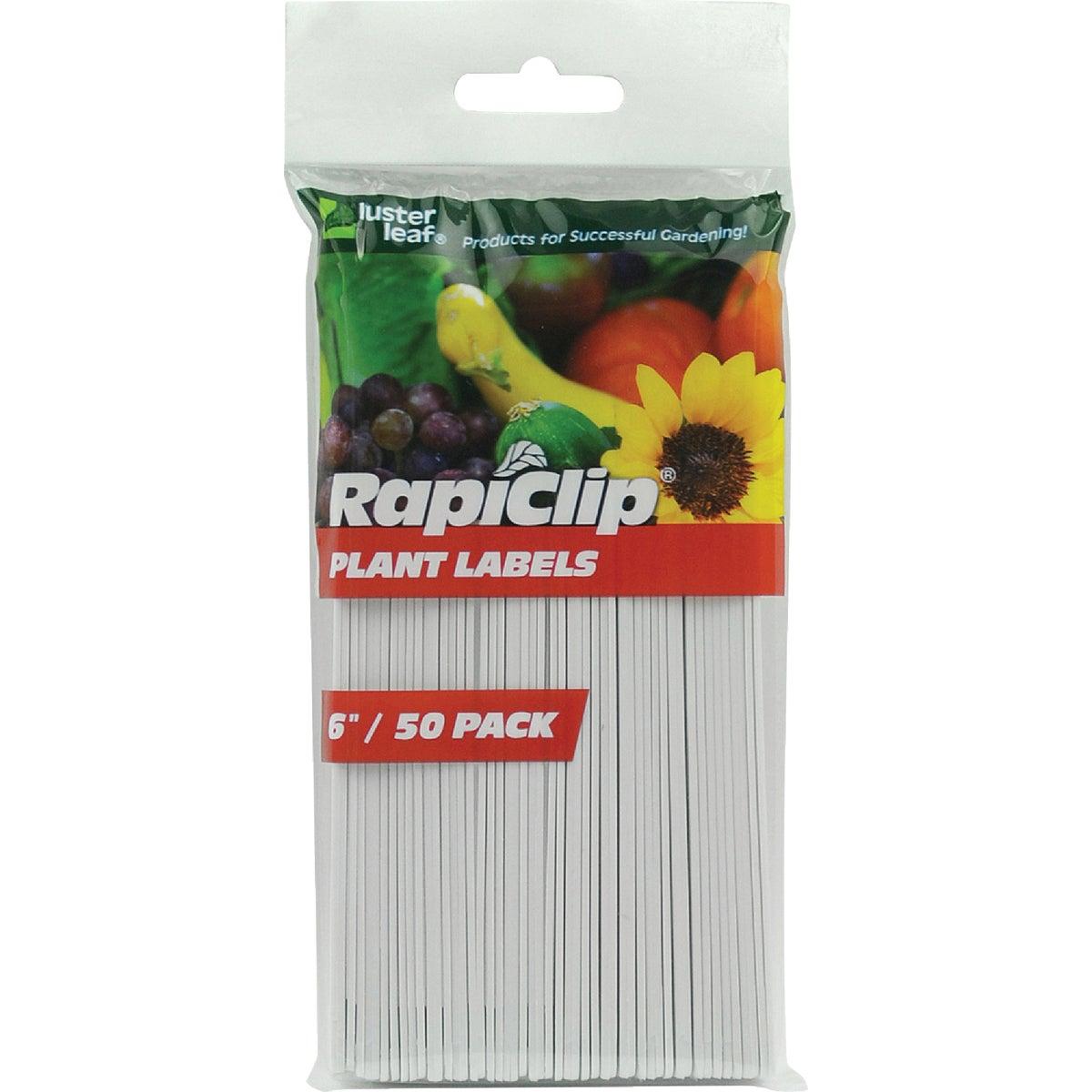 """50PK 6"""" PLANT LABELS"""