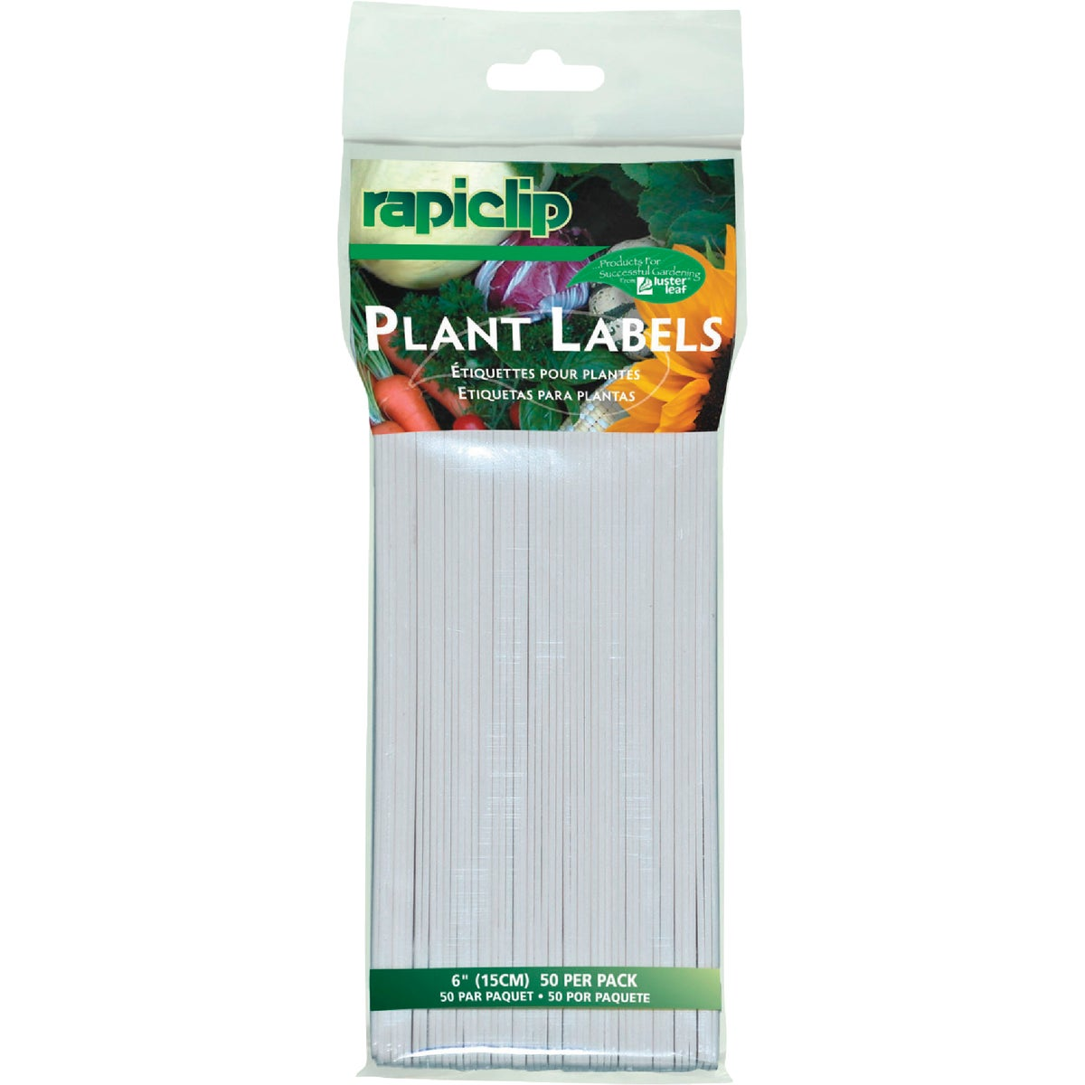 "50PK 6"" PLANT LABELS - 840 by Luster Leaf Prod Inc"