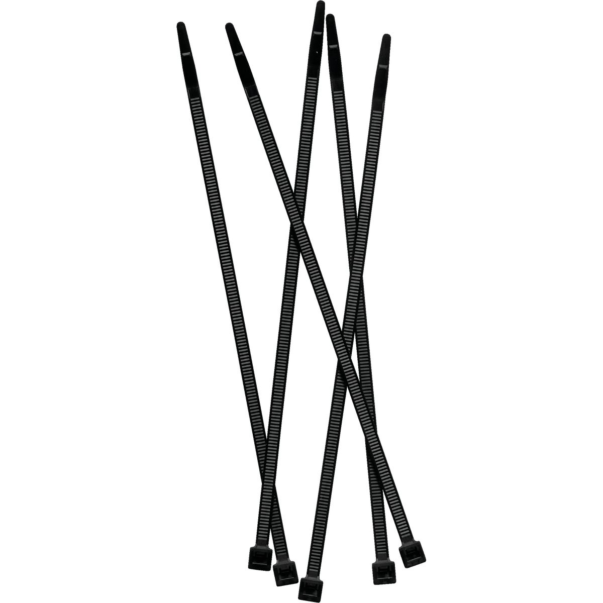 "50PC 7"" BLACK FENCE TIES - 120094 by Tenax Corporation"