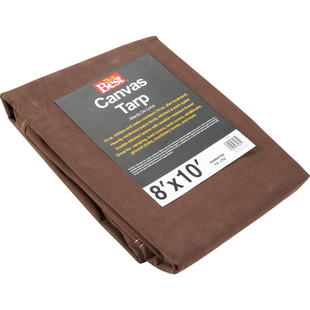 8X10-10OZ CANVAS TARP - TCR10008010T by Gosport Mfg Co