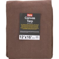 Gosport Mfg. 12X16-10OZ CANVAS TARP TCR10012016T