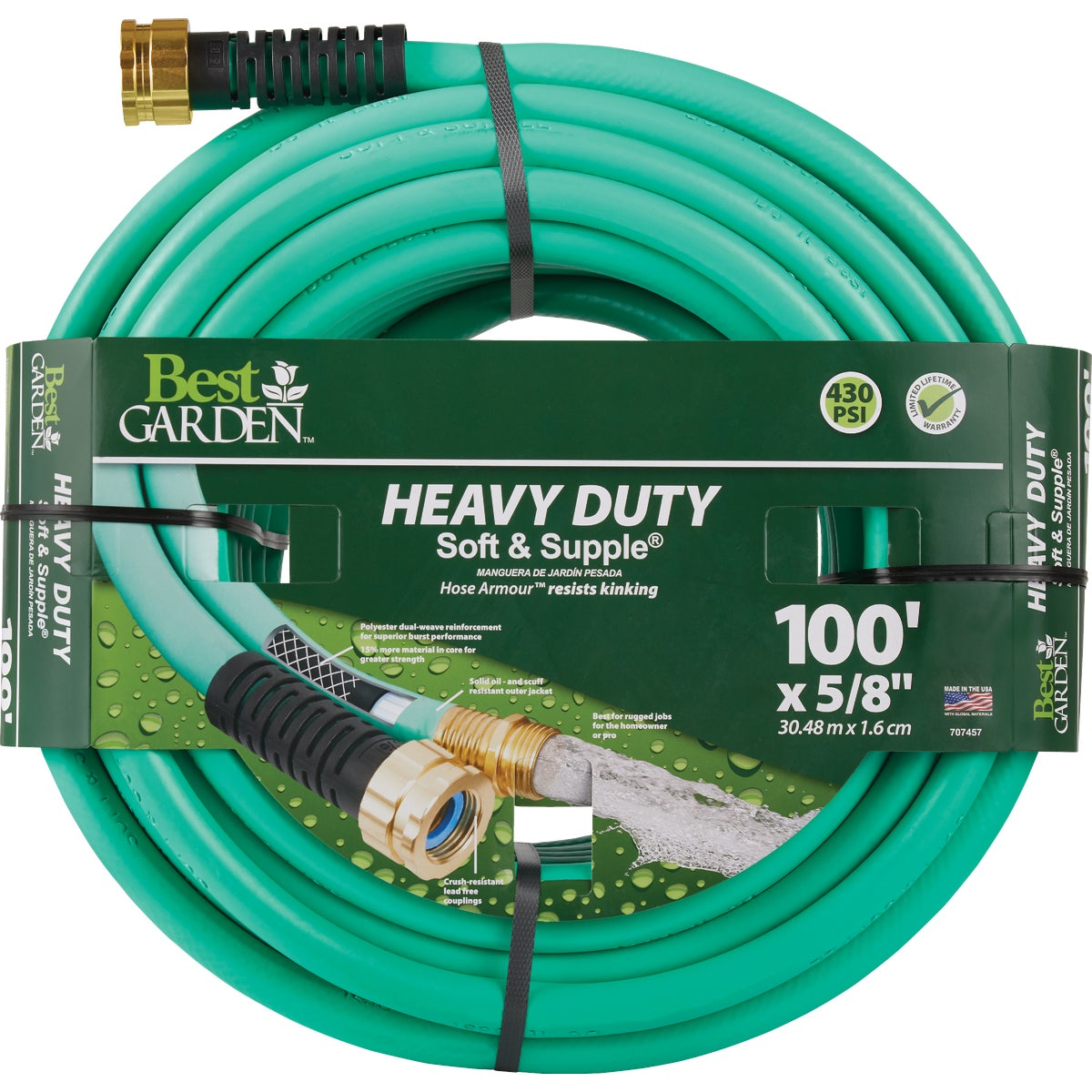 "5/8""X100' HD GARDEN HOSE - CDBSS58100 by Colorite  Swan"