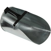 Miller Mfg. 4QT GLV FLAT FEED SCOOP 9204