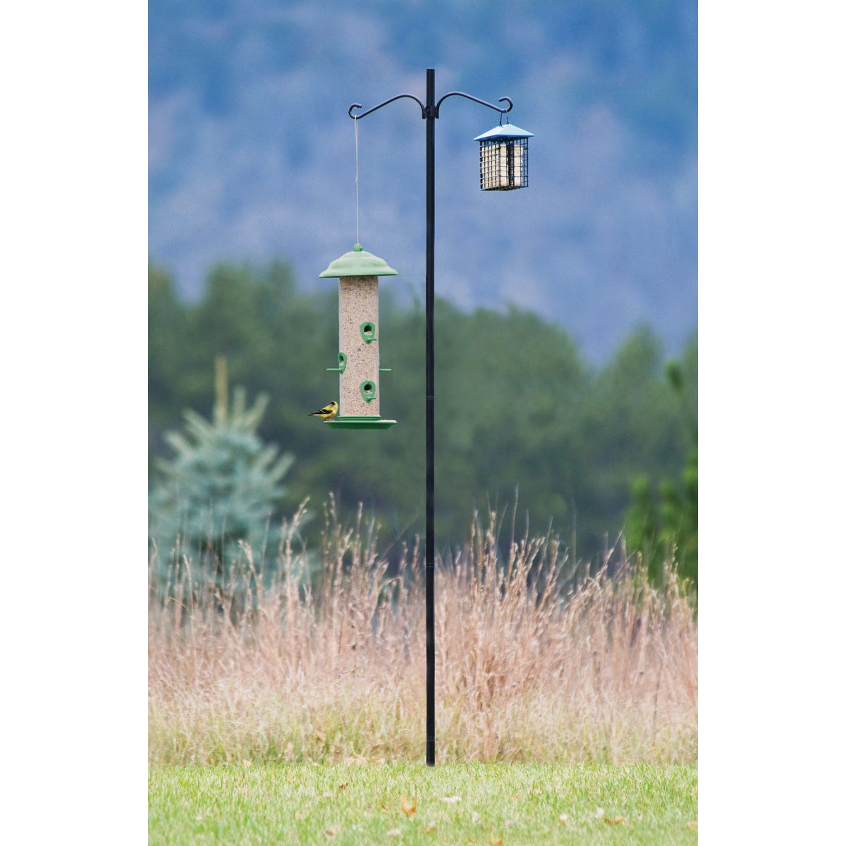 BIRD FEEDER POLE - 38016 by Hiatt Mfg
