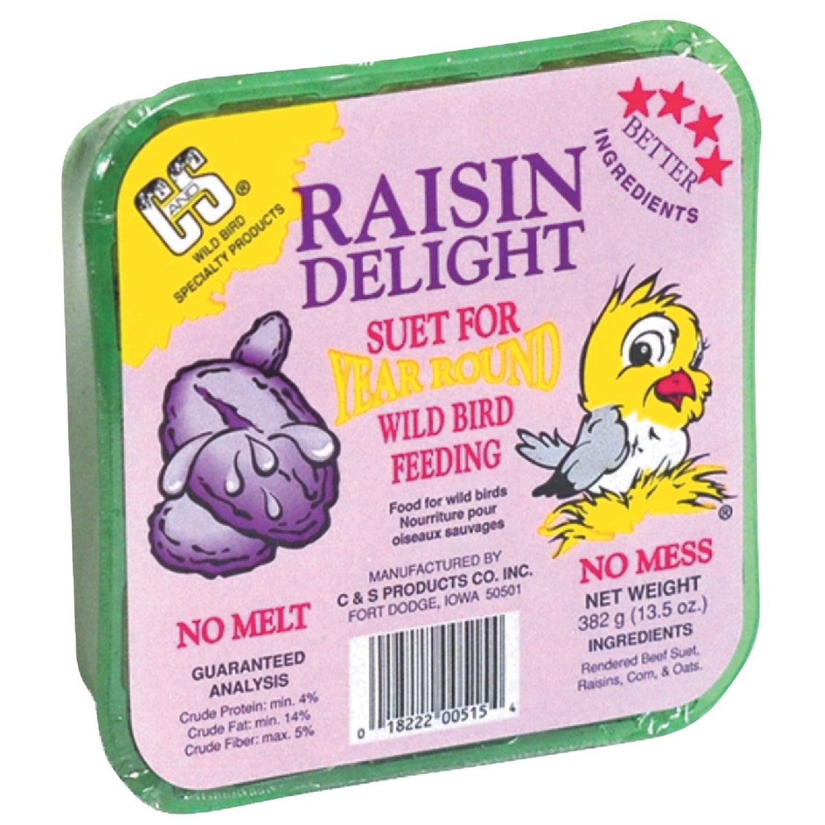 RAISIN DELIGHT SUET - 12515 by C & S Products Inc