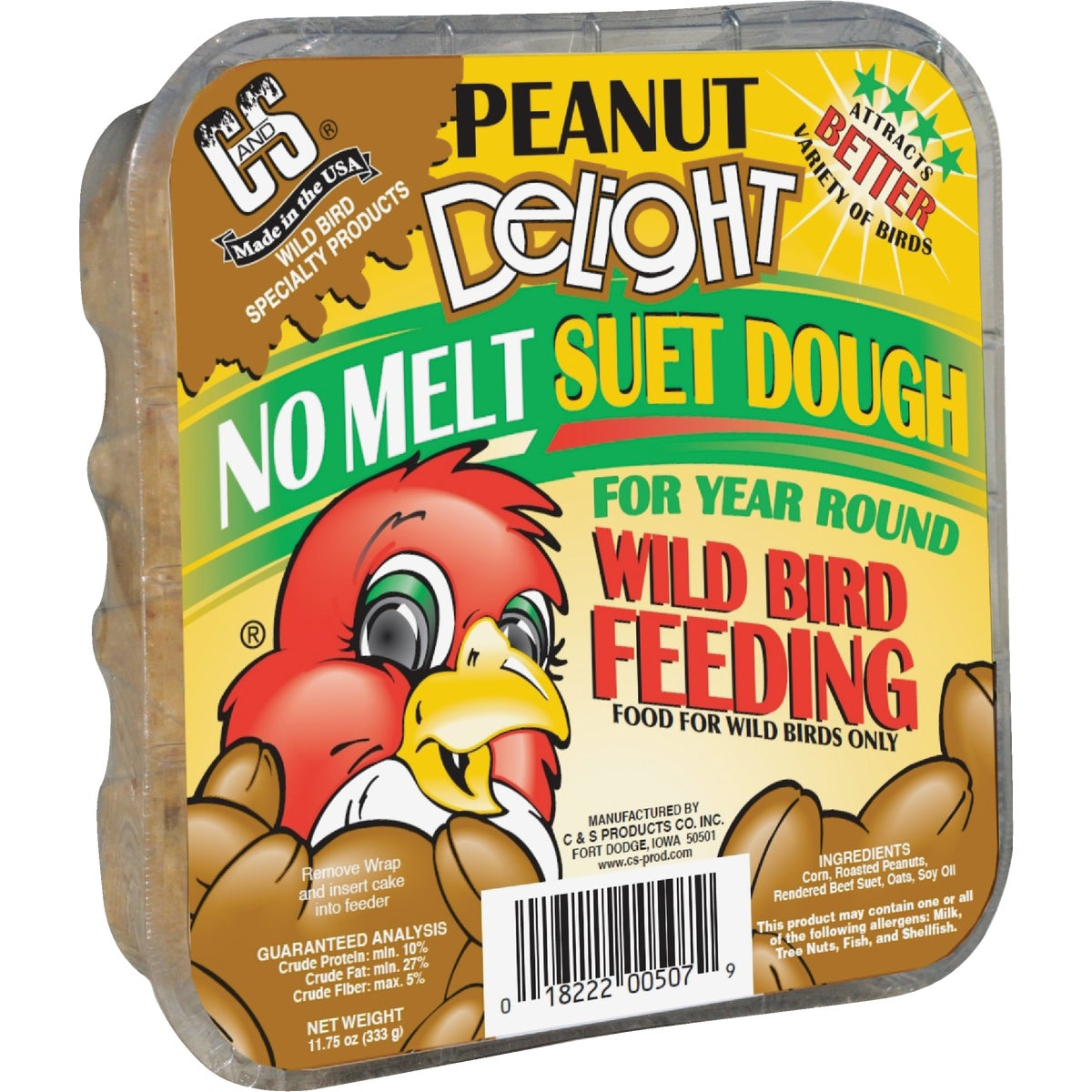 PEANUT DELIGHT SUET - 12507 by C & S Products Inc