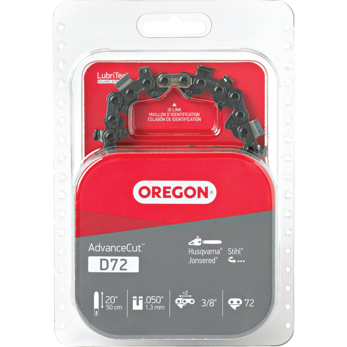 "20/21"" REPL SAW CHAIN - D72 by Oregon Cutting Systm"