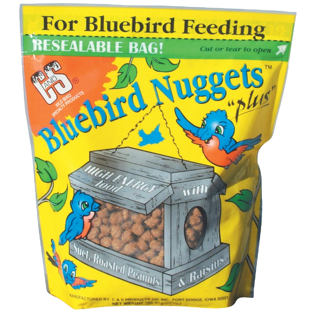BLUEBIRD NUGGETS - CS06526 by C & S Products Inc