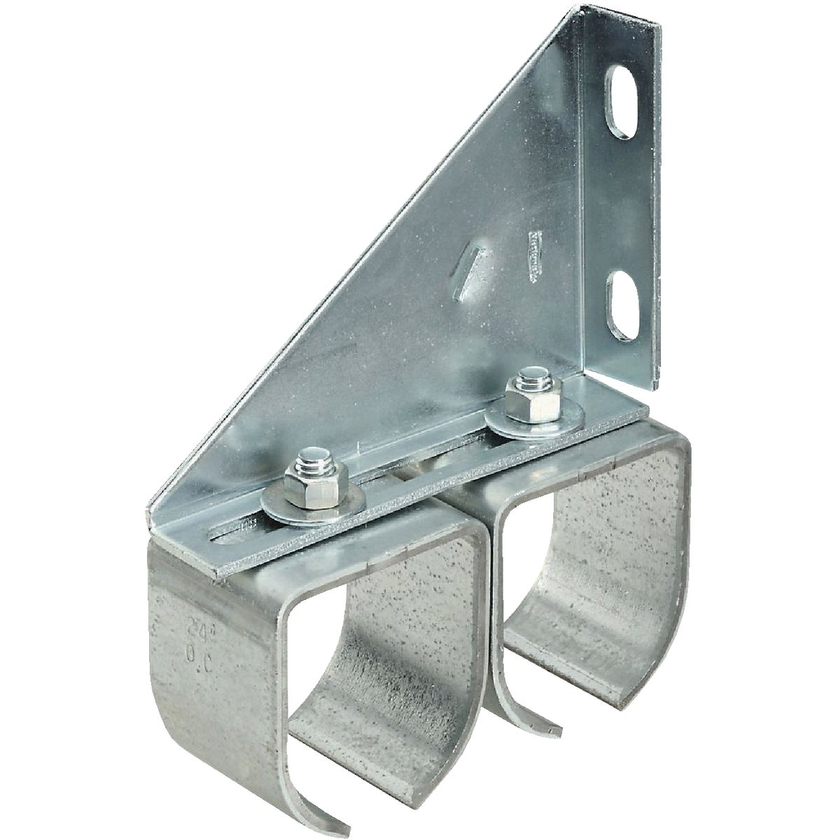GALV ROUND RAIL BRACKET - N193904 by National Mfg Co