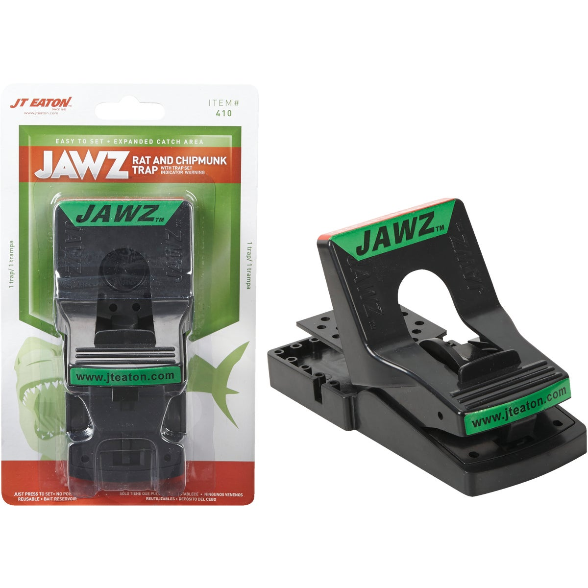 1PK JAWZ RAT TRAP - 410 by Jt Eaton & Co