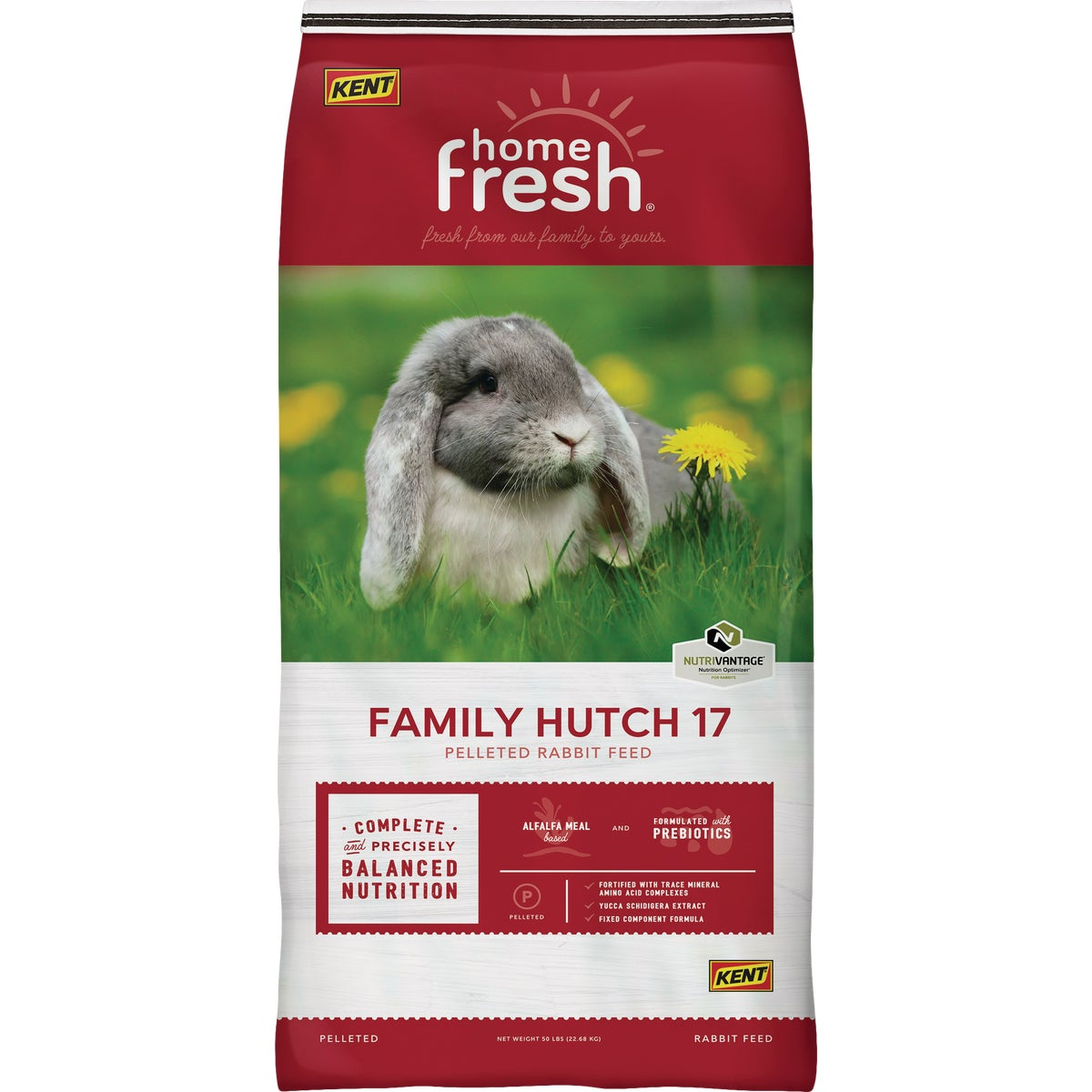 25LB TOPSHOW RABBIT FEED - 7562 by Kent Feeds Inc