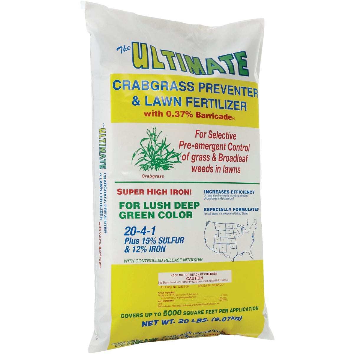CRABGRAS PREV/FERTILIZER - 116 by Ultimate Fertilizer
