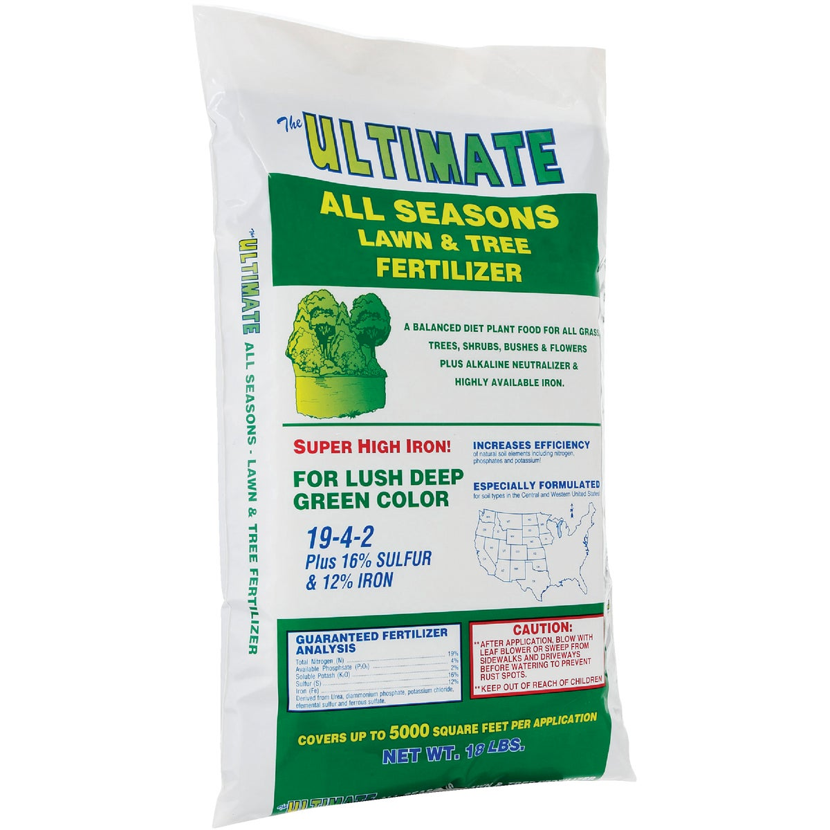 Ultimate Fertilizer LAWN & TREE FERTILIZER 121