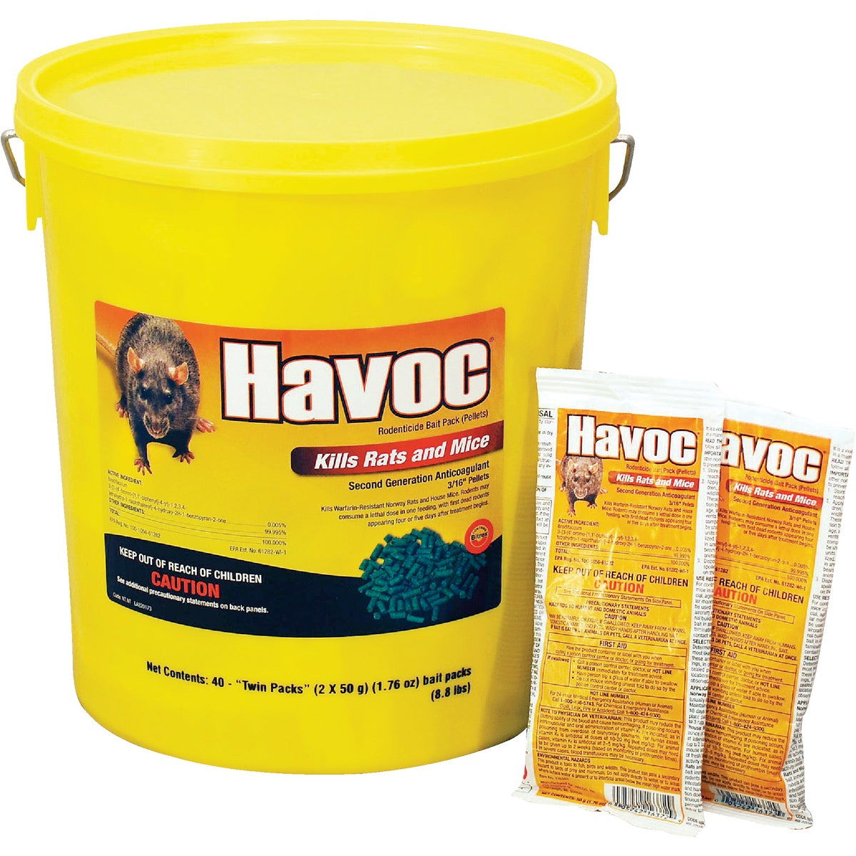 BKT HAVOC RAT/MOUSE BAIT - 116372 by Neogen Corp