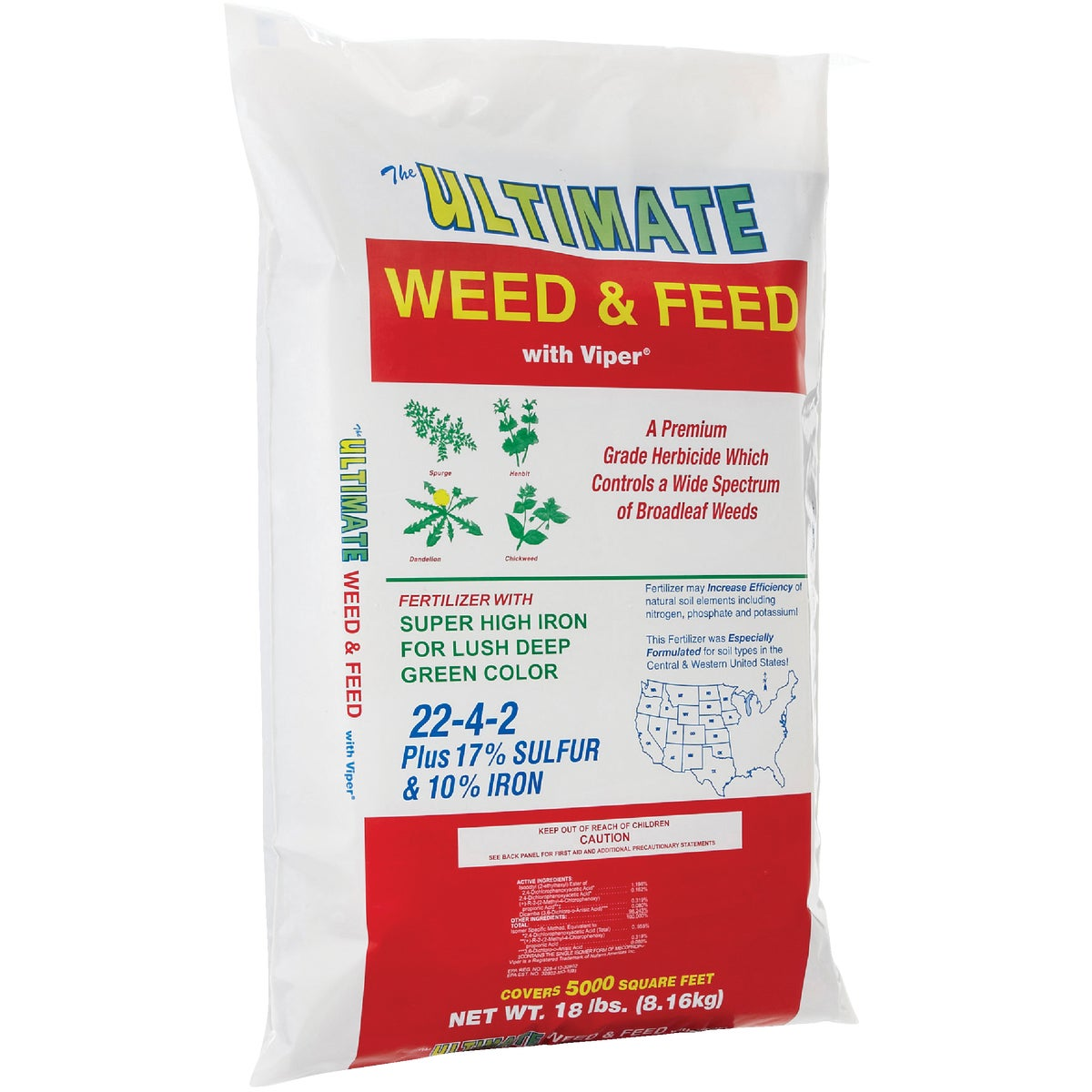 WEED & FEED FERTILIZER - 130 by Ultimate Fertilizer