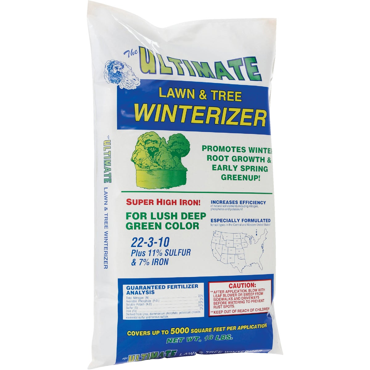 LAWN/TREE WINTRIZER FERT - 141 by Ultimate Fertilizer