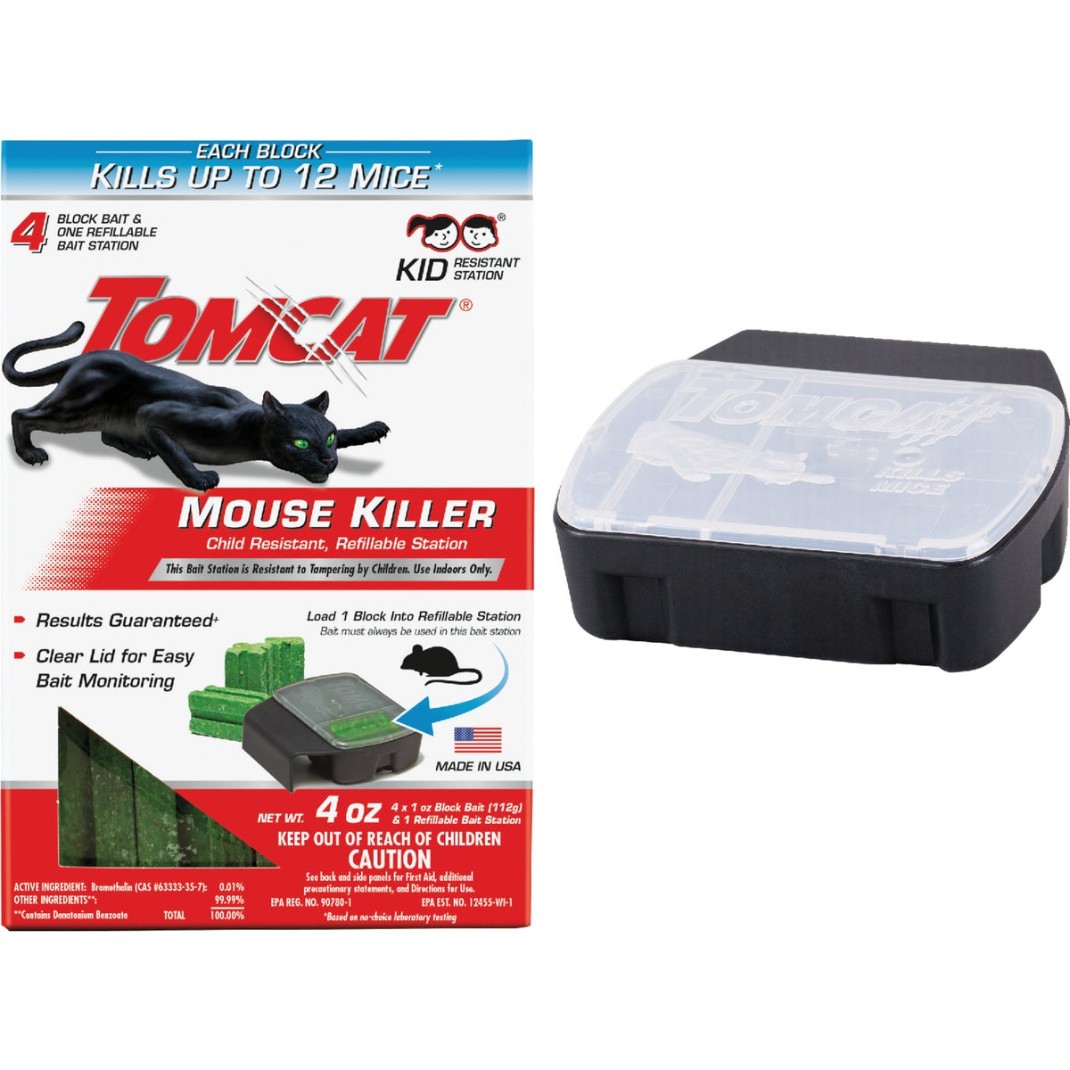 MOUSE BAIT STATION 1 REF - BL23404 by Motomco Ltd
